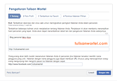 cara membuat fanspage facebook di blog