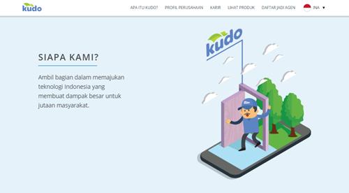 kudo Kios untuk Dagang Online