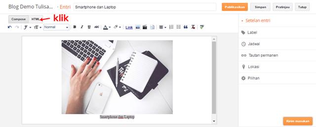 cara mendapatkan url gambar di postingan blog