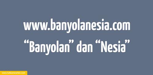 filosofi blog banyolanesia