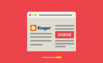 cara membuat tombol share di blog