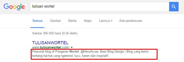 contoh deskripsi blog