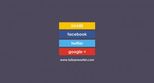 tombol share di blog