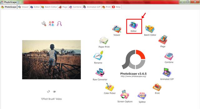 cara mengedit blog menggunakan photoscape