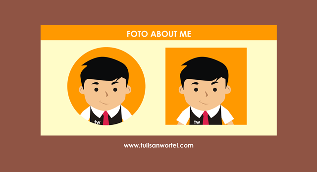 persiapan membuat about me di blog