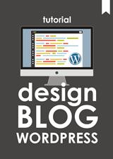 desain blog wordpress