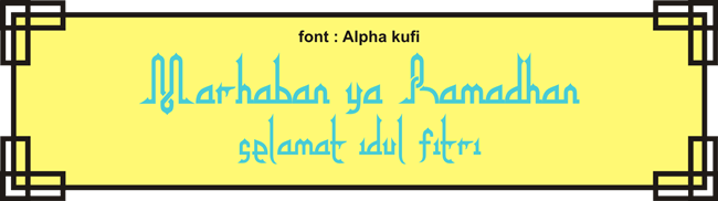 Alpha Kufi Regular Font