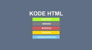 kode warna html css lengkap