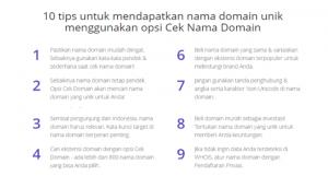 tips membeli domain unik hostinger